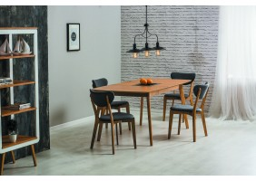 Комплект стол Felicio + стулья Andre 4 шт.