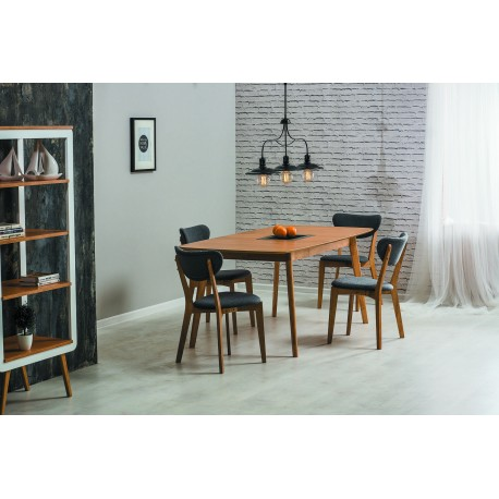 thumb Комплект стол Felicio + стулья Andre 4 шт. 1