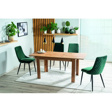 thumb Комплект стол Avis II + стулья Piano B Velvet 4 шт. 1