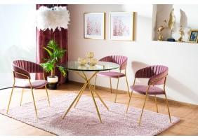 Комплект стол Azalia + стулья Lira Velvet 4 шт.