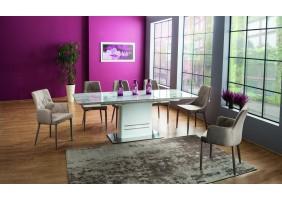 Комплект стол Cartier Ceramic + стулья Ricardo 6 шт.