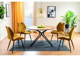 Комплект стол Colt + стулья Arco Velvet 4 шт.