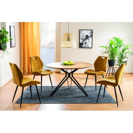 thumb Комплект стол Colt + стулья Arco Velvet 4 шт. 1