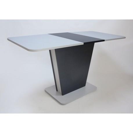 thumb Стол обеденный Cosmo Grey 110(145)x68 см Антрацит / Серый Камень 9