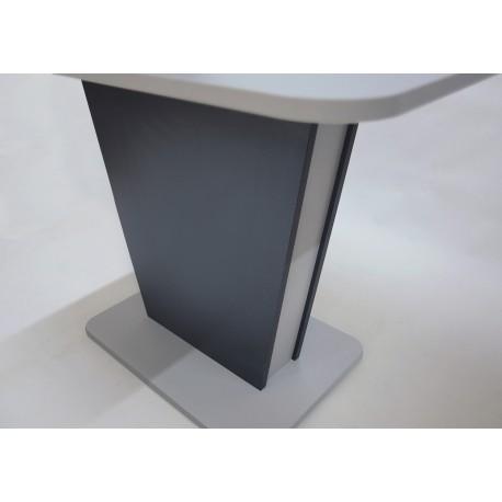 thumb Стол обеденный Cosmo Grey 110(145)x68 см Антрацит / Серый Камень 16