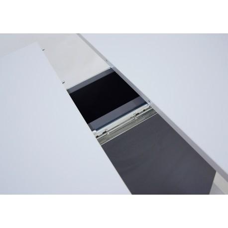 thumb Стол обеденный Cosmo Grey 110(145)x68 см Антрацит / Серый Камень 12