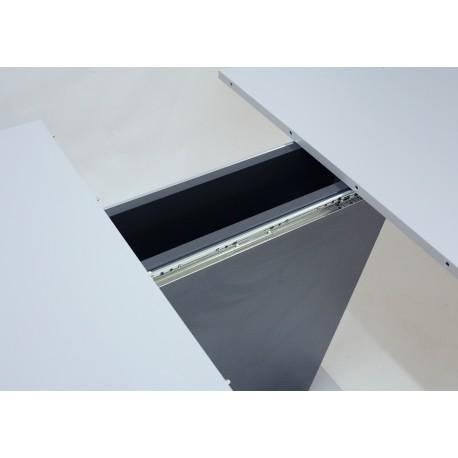 thumb Стол обеденный Cosmo Grey 110(145)x68 см Антрацит / Серый Камень 13