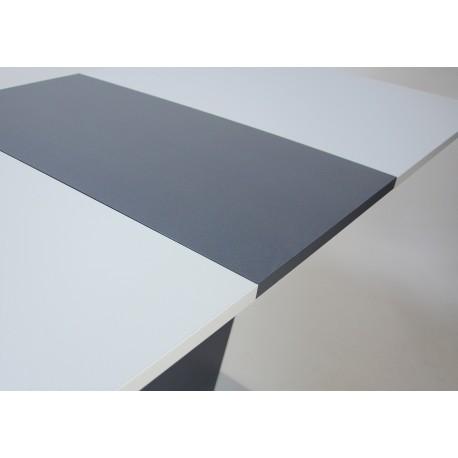 thumb Стол обеденный Cosmo Grey 110(145)x68 см Антрацит / Серый Камень 11
