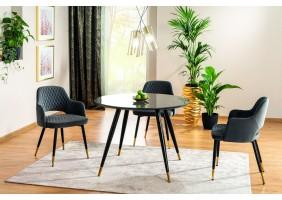 Комплект стол Cyryl II + стулья Franco Velvet 4 шт.