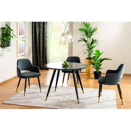 thumb Комплект стол Cyryl II + стулья Franco Velvet 4 шт. 1