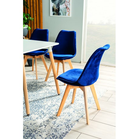 thumb Комплект стол Nolan + стулья Dior buk Velvet 4 шт. 2