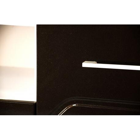 thumb Тумба TV Maggio Белый / Бордово-бронзовый хамелеон 19