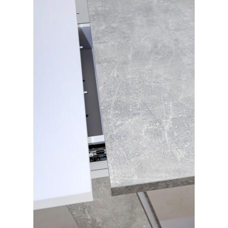 thumb Стол обеденный Torino 140(180)x80 Белая Аляска / Индастриал 12