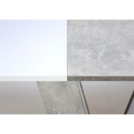 thumb Стол обеденный Torino 140(180)x80 Белая Аляска / Индастриал 10