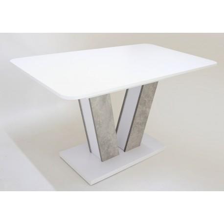 thumb Стол обеденный Torino 140(180)x80 Белая Аляска / Индастриал 20