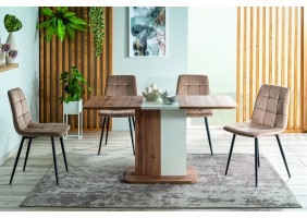 Комплект стол Next + стулья Mila Velvet 4 шт.