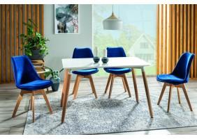 Комплект стол Nolan + стулья Dior buk Velvet 4 шт.