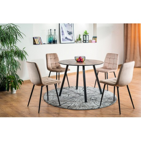 thumb Комплект стол Oakland + стулья Mila Velvet 4 шт. 1