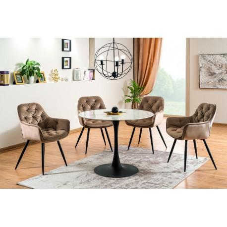 thumb Комплект стол Ontario + стулья Cherry Velvet 4 шт. 1