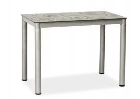 Стол обеденный Damar 100 x 60 см Серый