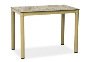 Стол обеденный Damar 100 x 60 см Темно-бежевый