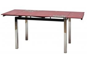 Стол обеденный GD-017 110(170)x74 Красный