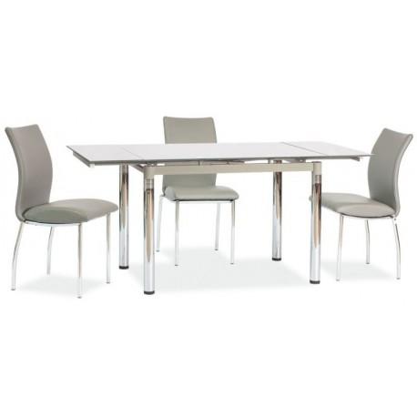 thumb Стол обеденный GD-018 110(170)x74 Серый 1