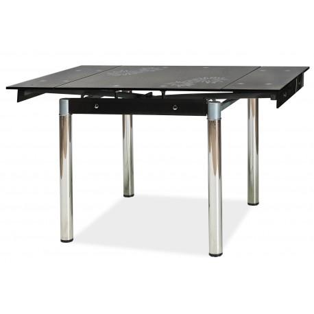 thumb Стол обеденный GD-082 80(131)x80 Черный 1