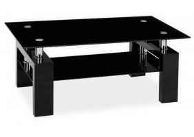 Журнальный стол Lisa II Черный лак 110x60x55