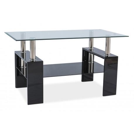 thumb Журнальный стол Lisa III Черный лак 110X60X60 1