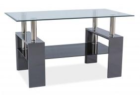 Журнальный стол Lisa III Серый лак 110X60X60