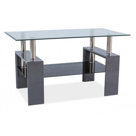 thumb Журнальный стол Lisa III Серый лак 110X60X60 1