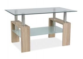 Журнальный стол Lisa III Дуб сонома 110X60X60