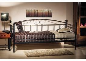 Односпальная кровать Ankara 90X200 Черный