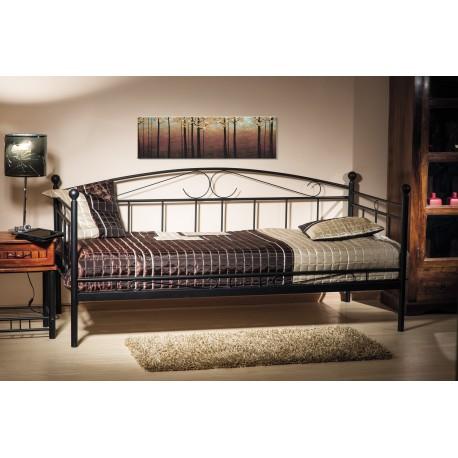thumb Односпальная кровать Ankara 90X200 Черный 1