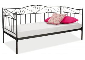 Односпальная кровать Birma 90X200 Черный