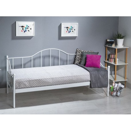 thumb Односпальная кровать Dover 90X200 Белый 1