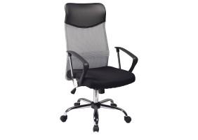 Кресло Q-025 Черный/Серый