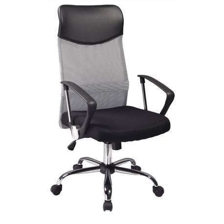 thumb Кресло Q-025 Черный/Серый 1