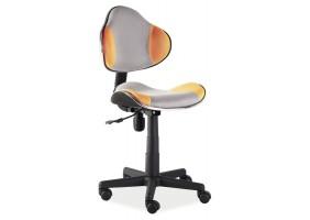 Кресло Q-G2 Оранжевый/Серый