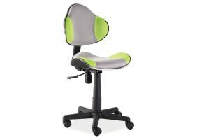 Кресло Q-G2 Зеленый / Серый мембрана ткань
