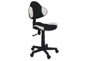 Кресло Q-G2 Белый/Черный мембрана ткань