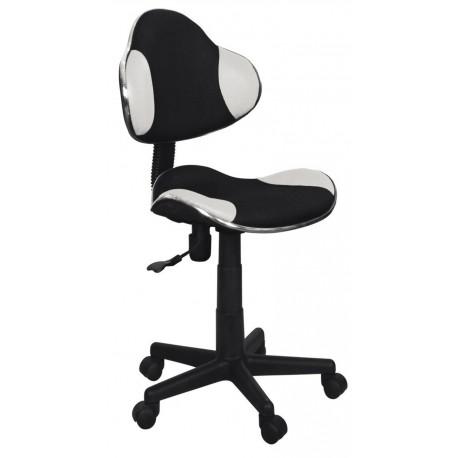 thumb Кресло Q-G2 Белый/Черный мембрана ткань 1