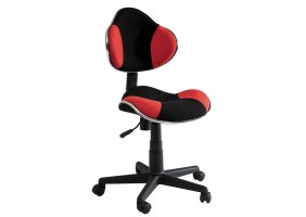 Кресло Q-G2 Красный / Черный