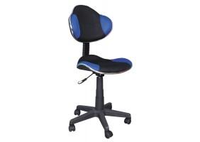 Кресло Q-G2 Синий / Черный