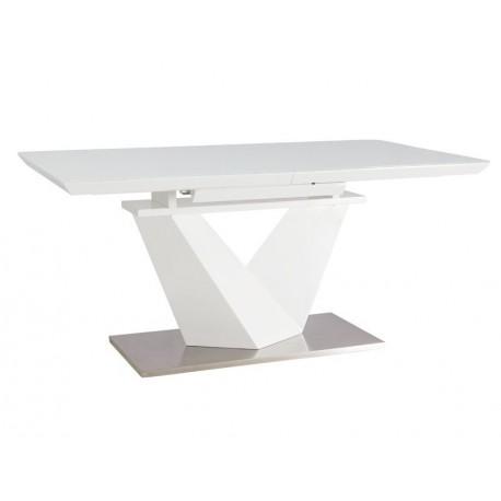 thumb Стол обеденный Alaras III Белый / Белый лак 160(220)X90 3