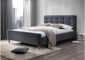 Двуспальная кровать Pinko 160X200 Серый
