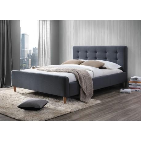 thumb Двуспальная кровать Pinko 160X200 Серый 1