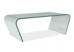 Журнальный стол Tesla Прозрачный 120X60X42