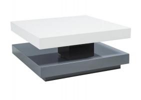Журнальный стол Falon Бело/серый 75(105)х7534